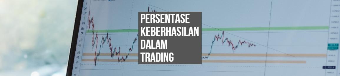 Persentase keberhasilan dalam Trading